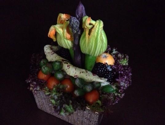 Flower  zucchini